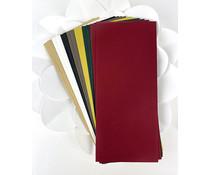 Picket Fence Studios Slim Line Envelopes 4.125 x 9.5 Inch Traditional Christmas (EN-102)