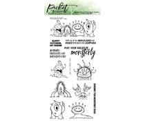 Picket Fence Studios You Creep Me Out 4x8 Inch Clear Stamps (H-109)