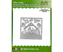 Picket Fence Studios Nativity Slim Line 4x4 Inch Die Cutting System Insert (SDCS-108)