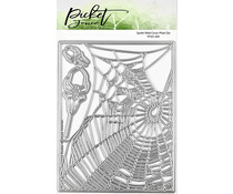 Picket Fence Studios Spider Web 4x6 Inch Cover Plate Dies (PFSD-204)