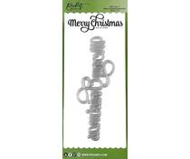 Picket Fence Studios Slim Line Merry Christmas Word 4x10 Inch Dies (SDCS-119)