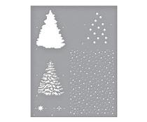 Spellbinders Layered Christmas Tree Stencils (STN-003)