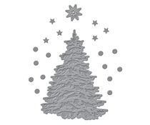 Spellbinders O Christmas Tree Etched Dies (S3-419)
