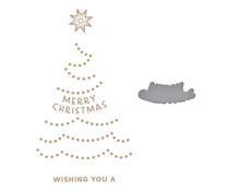 Spellbinders Shining Christmas Tree Glimmer Hot Foil Plate & Die (GLP-291)