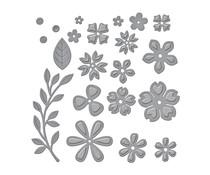 Spellbinders Petite Floral Potpourri Etched Dies (S3-420)