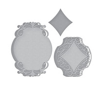 Spellbinders Romantic Chargeour Etched Dies (S6-174)