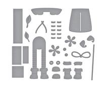 Spellbinders Shopping Spree Etched Dies (S3-416)