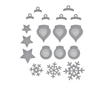 Spellbinders Holiday Decorations Etched Dies (S2-317)