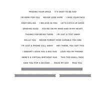 Spellbinders I'm Here for You Sentiments Clear Stamp & Die Set (SDS-167)