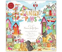 Craft Consortium Sandy Paws 6x6 Inch Paper Pad (CCPPAD028B)