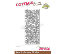Scrapping Cottage Rose Background Slimline (CCB-100)