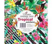 Decorer Tropical Madness 8x8 Inch Paper Pack (DECOR-B37-435)