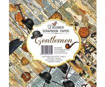 Decorer Gentleman 8x8 Inch Paper Pack (DECOR-B36-434)