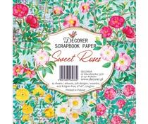 Decorer Sweet Roses 6x6 Inch Paper Pack (DECOR-C33-236)
