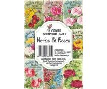 Decorer Herbs & Roses Paper Pack (DECOR-M21)