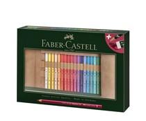 Faber Castell Polychromos Colour Pencils in Pencil Roll (34pcs) (FC-110030)
