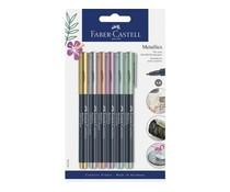 Faber Castell Metallics Markers 1,5mm (6pcs) (FC-160706)
