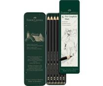 Faber Castell Pitt Graphite Matt Pencils (6pcs) (FC-115207)