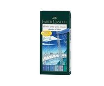 Faber Castell Pitt Artist Pen Brush Shades Of Blue (6pcs) (FC-167164)