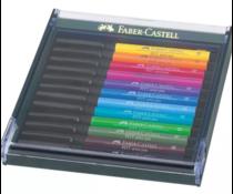 Faber Castell Pitt Artist Pen Brush Bright (12pcs) (FC-267421)