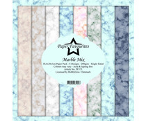 Paper Favourites Marble Mix 12x12 Inch Paper Pack (PF375)