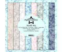 Paper Favourites Marble Mix 6x6 Inch Paper Pack (PF175)