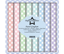 Paper Favourites Pastel Gingham 12x12 Inch Paper Pack (PF374)