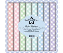 Paper Favourites Pastel Gingham 6x6 Inch Paper Pack (PF174)