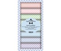 Paper Favourites Pastel Gingham Slim Paper Pack (PFS020)