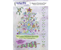 IndigoBlu Magical Christmas Tree A5 Rubber Stamps (IND0813)