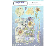 IndigoBlu Camomile A5 Rubber Stamps (IND0810)