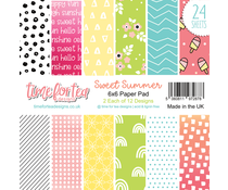 Time For Tea Sweet Summer 6x6 Inch Paper Pack (T4T/749/Swe/Pap)