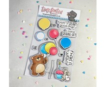 Time For Tea Birthday Bear Clear Stamps (T4T/717/Bir/Cle)