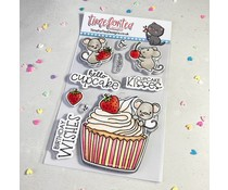 Time For Tea Hello Cupcake Clear Stamps (T4T/723/Hel/Cle)