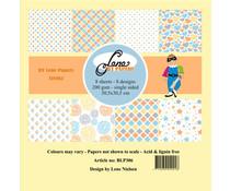 By Lene Tivoli 12x12 Inch Paper Pack (BLP306)