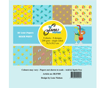 By Lene Beach Party 12x12 Inch Paper Pack (BLP305)
