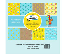 By Lene Beach Party 6x6 Inch Paper Pack (BLP020)