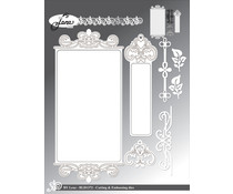 By Lene Slimcard Ornament Cutting & Embossing Dies (BLD1372)