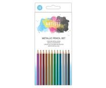 Docrafts Artiste Metallic Pencil Set (12pcs) (DOA 856101)