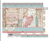 Stamperia Calendar 2022 Passion (ECL2203)