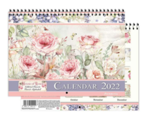 Stamperia Calendar 2022 House of Roses (ECL2202)
