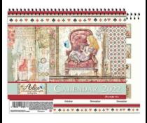 Stamperia Calendar 2022 Alice (ECL2201)