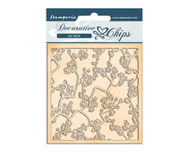 Stamperia Decorative Chips Sir Vagabond in Japan Texture (SCB91)