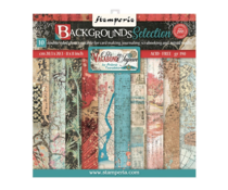 Stamperia Sir Vagabond in Japan Backgrounds 8x8 Inch Paper Pack (SBBS43)