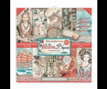 Stamperia Sir Vagabond in Japan 12x12 Inch Paper Pack (SBBL95)