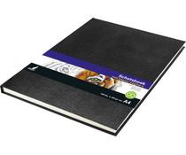 Kangaro Sketchbook A4 Hardcover Black (K-5321)