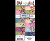 LDRS Creative Painted Garden 4x9 Inch Paper Pack (LDRS4105)
