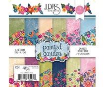 LDRS Creative Painted Garden 6x6 Inch Paper Pack (LDRS4104)