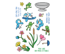 LDRS Creative Garden Friends 4x6 Inch Clear Stamps (LDRS3311)