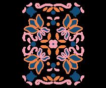 LDRS Creative Folk Art A2 Layering Stencils (3pcs) (LDRS5202)